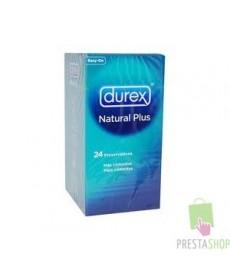 DUREX NATURAL PLUS EASY ON 24