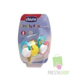 CHICCO CHUPETE ANAT ANIMAL 0+ 2BLISTER