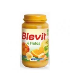 BLEVIT 130 POSTRE 6 FRUTAS