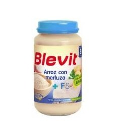 BLEVIT Arroz con Merluza (250 g.)