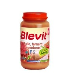 BLEVIT Pollo, Ternera y Verduras (250 g.)