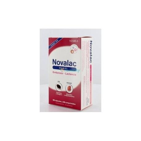 NOVALAC MAMAS (28 COMP + 28 CAPS )