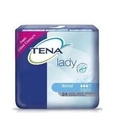 TENA LADY COMPRESA NORMAL 24