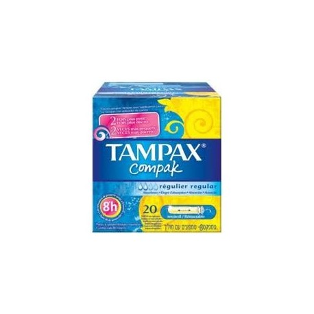 TAMPAX COMPAK REGULAR 20