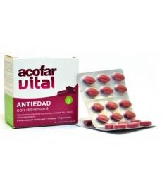 ACOFAR VITAL RESVERATROL COMPLEMENTO NUTRICIONAL ANTIEDAD