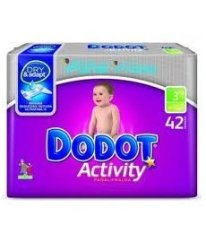 PAÑAL DODOT ACTIVITY T3 (4A10KG)