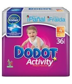 PAÑAL DODOT ACTIVITY T4 9 A 15KG)