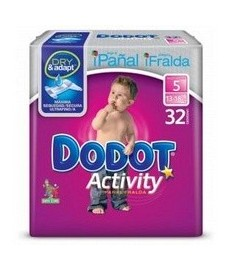 PAÑAL DODOT ACTIVITY T5 (13 A 18KG)