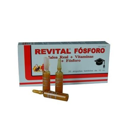 REITAL FOSFORO 20 AMPOLLAS COMPLEMENTO ALIMENTICIO