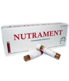 NUTRAMENT 20 VIALES COMPLEMENTO ALIMENTICIO