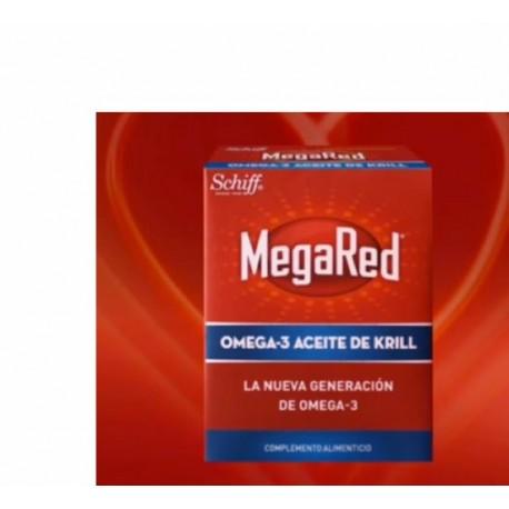 MEGARED OMEGA 3 500MG 40 CAPSULAS