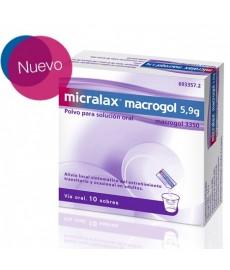 MICRALAX MACROGOL SOBRES 10 UNIDADES